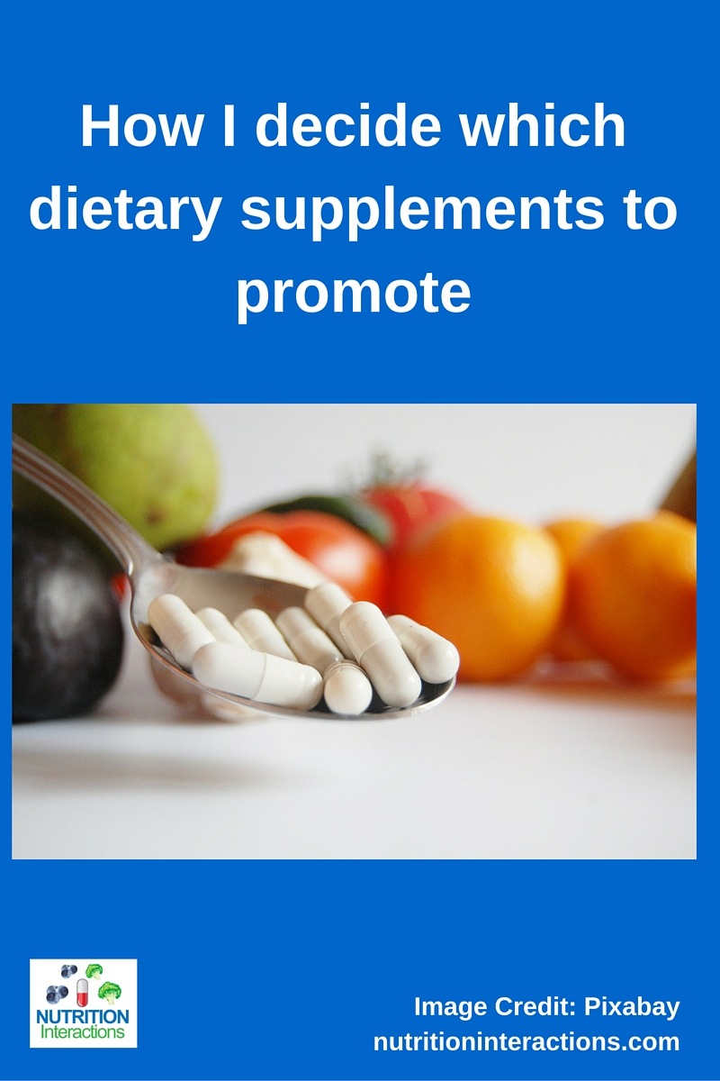 dietary supplements to promote